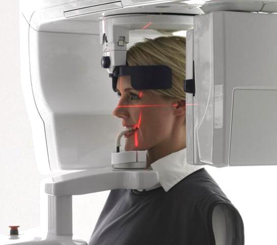 Cone Beam 3D Seni Paranasali Massiccio Facciale Esame Diagnostico