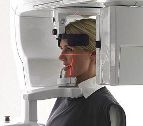 Cone Beam 3D Acquisizione Cranio Intero per Ortodonzia Livorno
